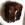 Gürteltasche im Fell mit vergoldetem Pferd