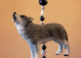 Handyanhänger Wolf, Husky